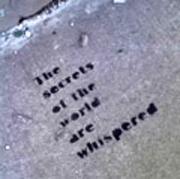 Secrets are Whispered