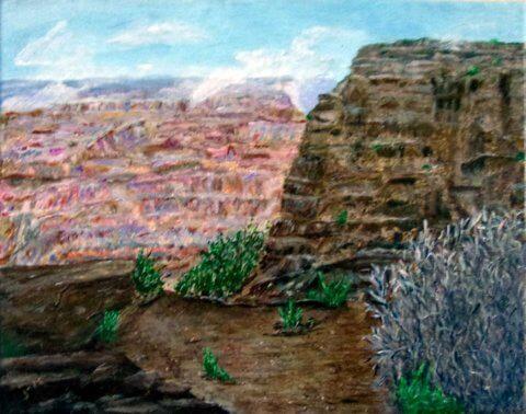 Grand Canyon 11x14 Acrylic Canvas