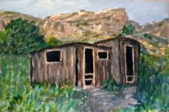 Dripping Springs Las Cruces NM 4x6 Acrylic