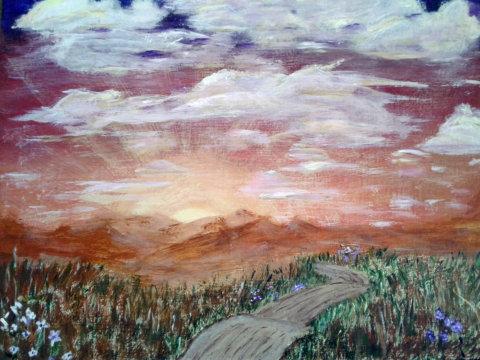 Southwest Sunrise - SOLD